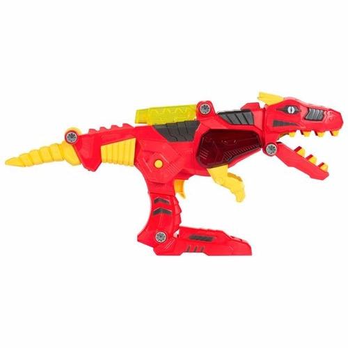 transformers 2 en1 dinobot para ensamblar con luces y sonido