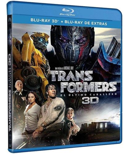 transformers 5 3d el ultimo caballero  blu-ray final full