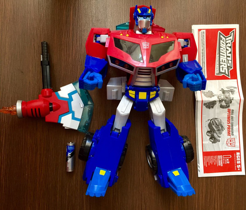 transformers animated optimus prime roll out command