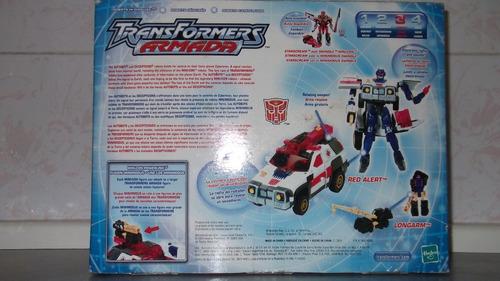 transformers armada red alert hasbro autobots optimus prime