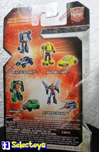 transformers autobot wheelie o beachcomber 25 aniversario