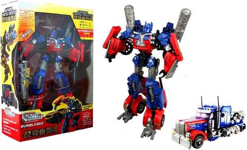 transformers autobots juguete king kong optimus prime  40 cm