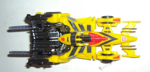 transformers beast machines deluxe mirage amarillo loose