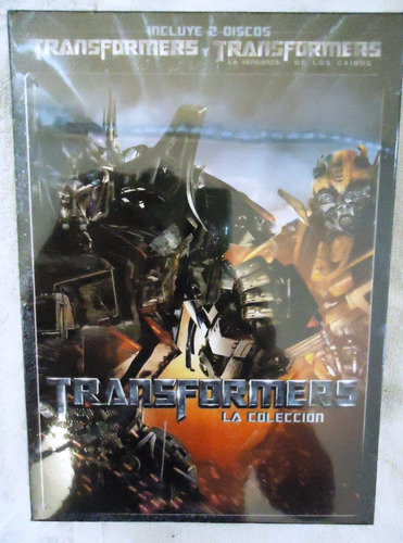 transformers bosxet peliculas 1 uno y 2 dos en dvd