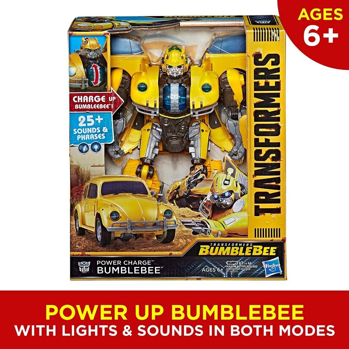 transformers bumblebee vocho power luz  sonidos   en mercado libre