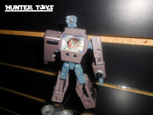 transformers, camara, clase deluxe, figura original hasbro!!