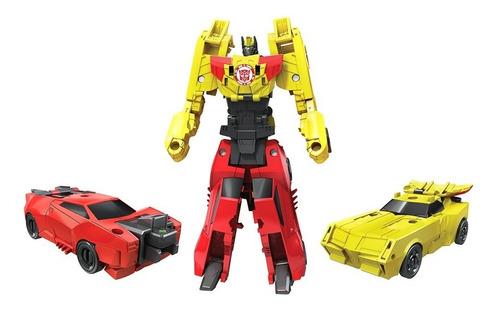 transformers combiner force sideswipe - bumblebee (1428)