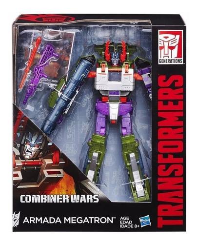 transformers combiner wars leader class armada megatron