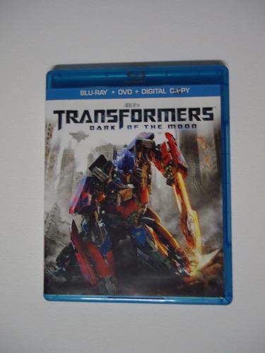 transformers dark of the moon  -  blu-ray