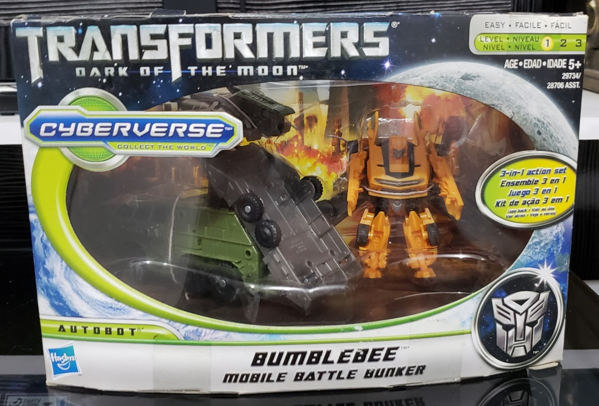 Transformers Dark Of The Moon Bumblebee Mobile Battle Bunker