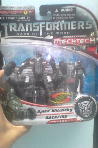 transformers dark of the moon human alliance spike-backfire