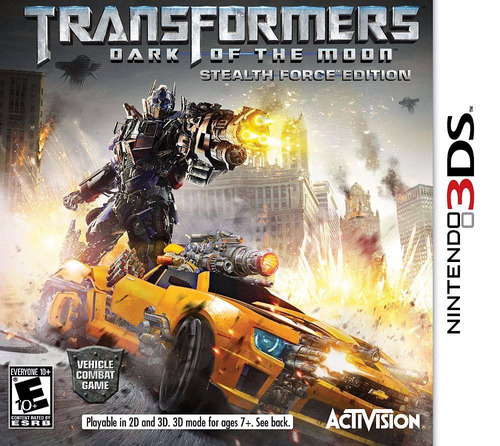 transformers dark of the moon nintendo 3ds venta/cambio