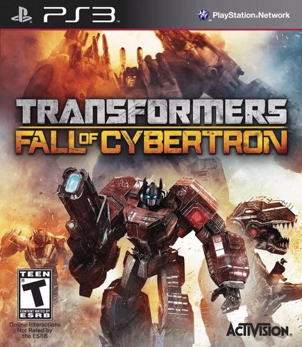 transformers fall of cybertron ps3 nuevo fisico en palermo