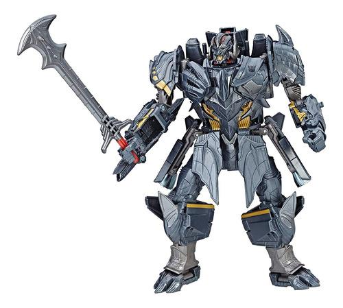 transformers figura premier de the last knight coleccion