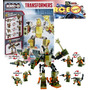 Transformer Kre-o Micro Chargers Combiners Grimstone