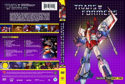 transformers g1 coleccion dvd (24 discos)