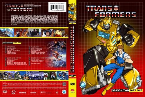 transformers g1 coleccion dvd (24 discos)