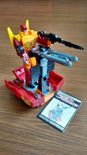 transformers g1 rodimus prime_ completo