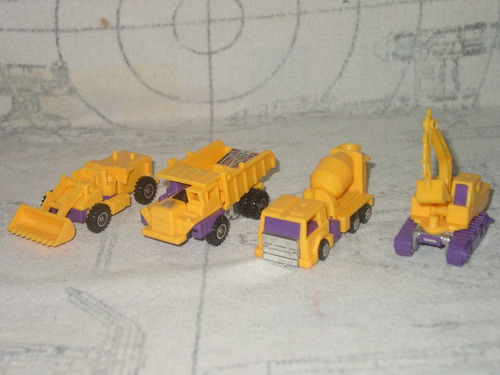transformers g2 lote de constructicons (devastator)