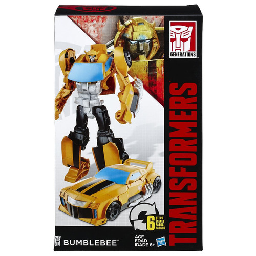 transformers generations cyber - optimus prime e bumblebee