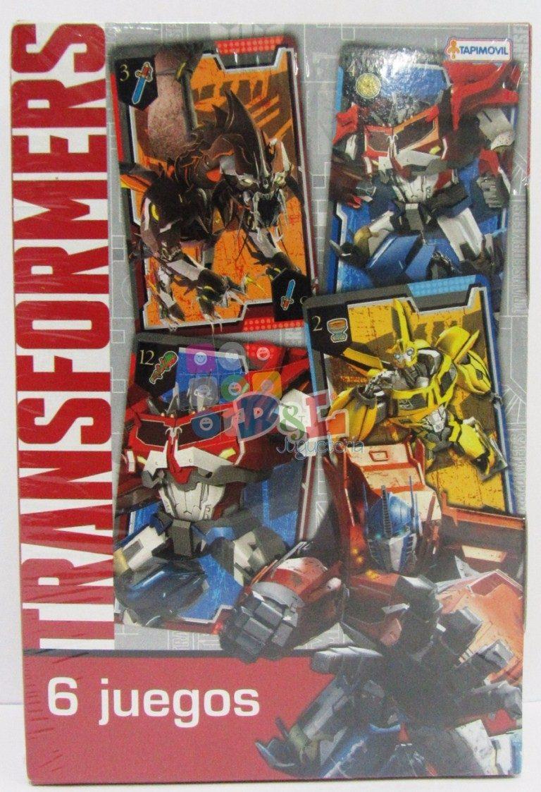 Transformers Hasbro 6 Juegos En 1 Y Mas Para Jugar En Flia 150