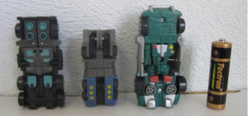 transformers lote de 3 carros