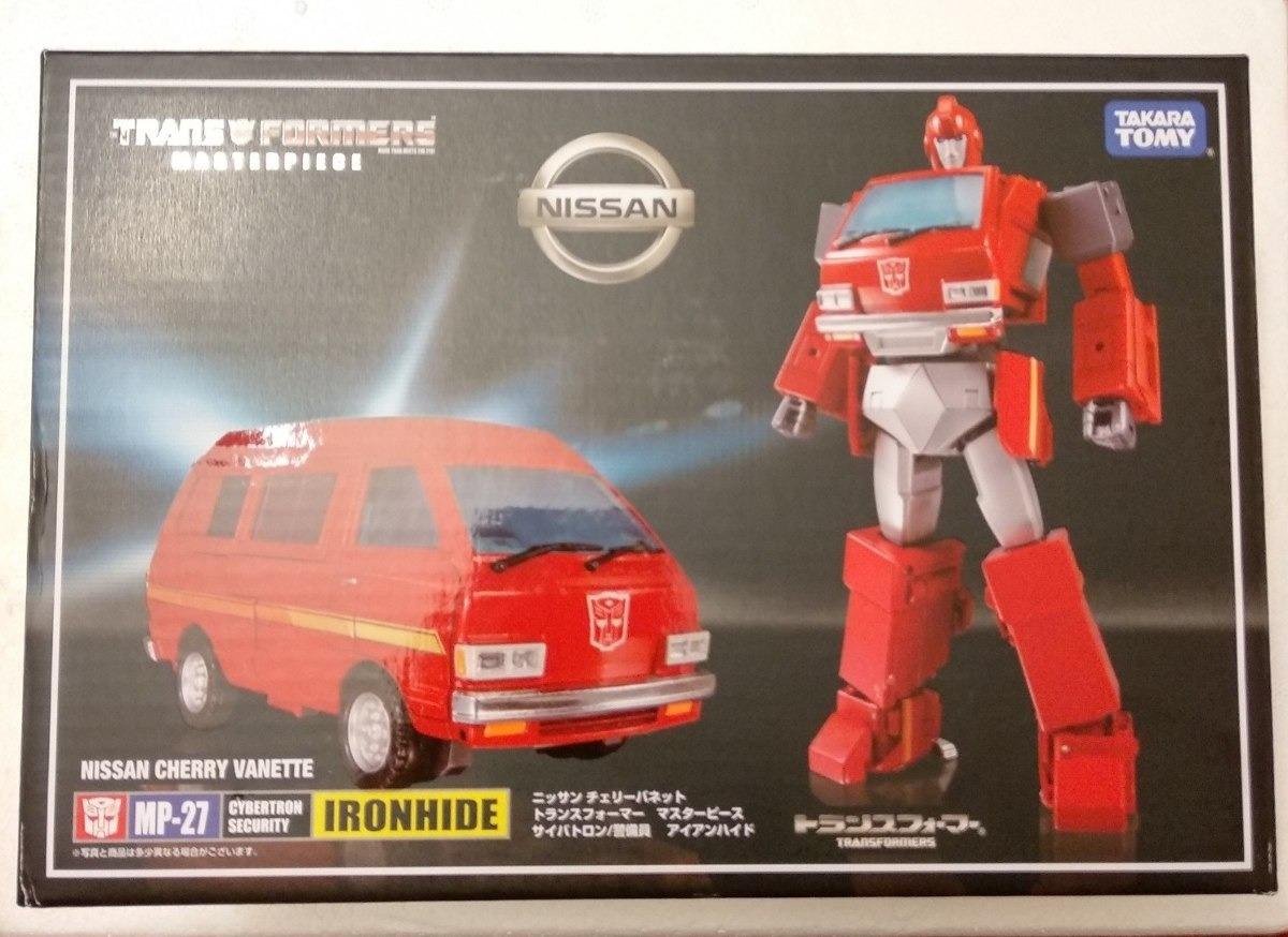 Takara Tomy Transformers Masterpiece MP-27 IRONHIDE NISSAN CHERRY VANETTE Figure