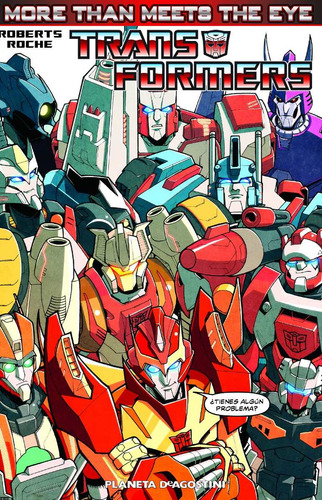 transformers, more than meets the eye (independ envío gratis