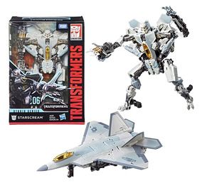 06 Transformers Starscream Series Voyager Studio Movie 5jLR4A
