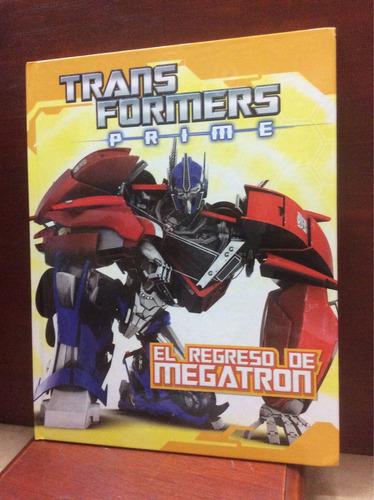 transformers prime- el regreso de megatron
