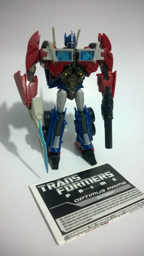 transformers prime optimus prime first editions