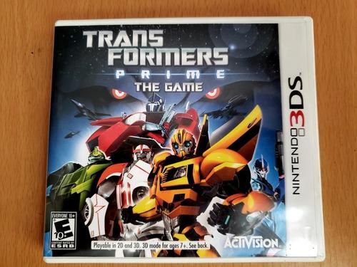 transformers prime the game nintendo 3ds nuevo