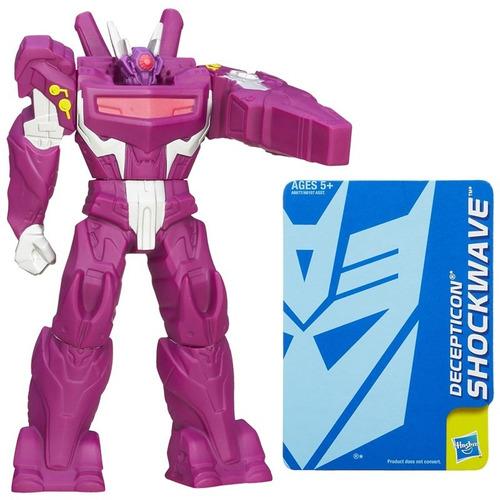 transformers - prime titan warrior - shockwave - hasbro