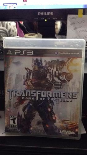 transformers ps3 seminovo