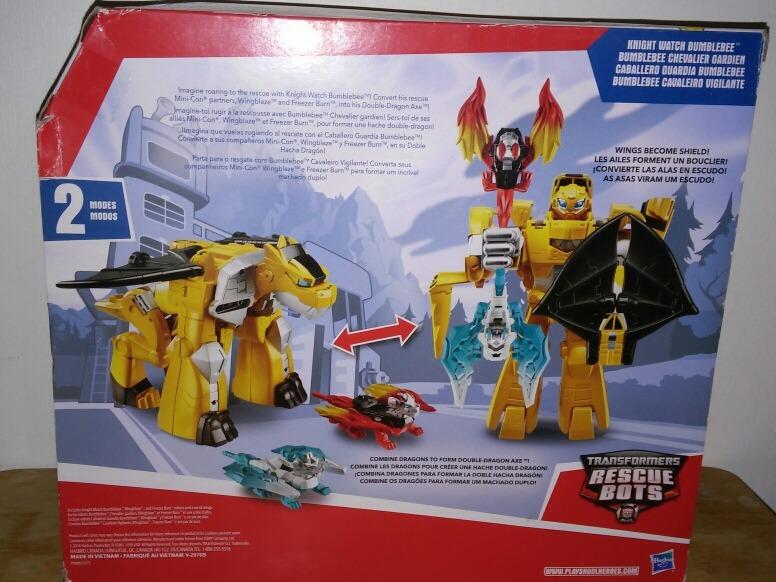 Transformers Rescue Bots Caballero Guardia Bumblebee 59900 En