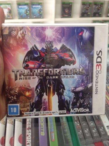 transformers: rise of the dark spark - 3ds novo & original