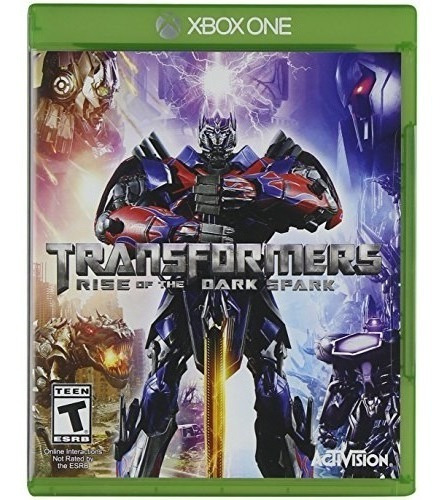 transformers rise of the spark oscuro - xbox one xbox one