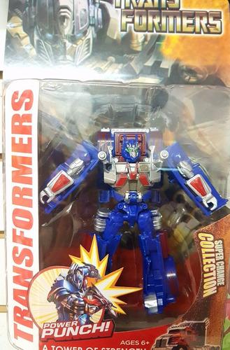 transformers robot optimus prime y más 20 cm