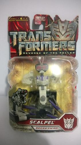 transformers scalpel sellado