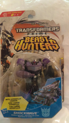 transformers shockwave hasbro beast hunters