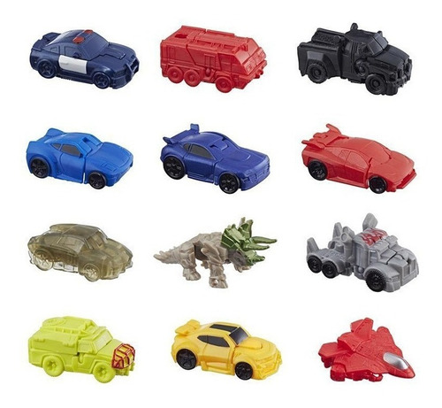 transformers sobre  tiny turbo changers 2 modos hasbro