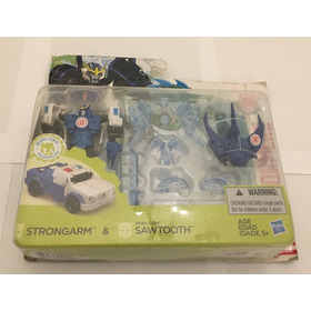 Transformers Strongarm & Nini-con Sawtooth - Raridade
