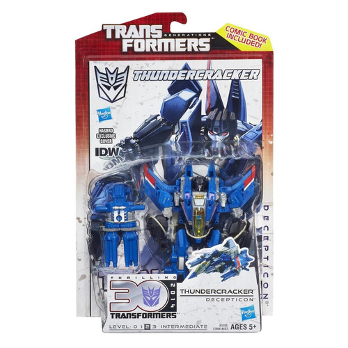 transformers thundercracker decepticon idw incluye cover