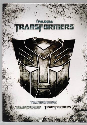 transformers trilogia de peliculas 1  2 y 3 en dvd