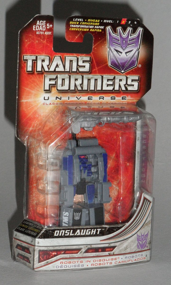 Transformers Universe Onslaught Legends Class