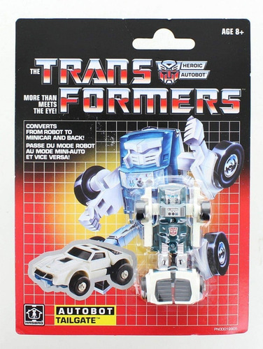 transformers vintage g1 legião class autobot tailgate