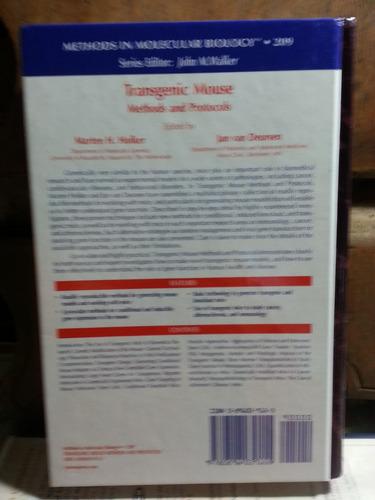 transgenic mouse methods and protocols - hofker van deursen