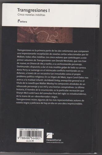 transgresiones 1- antología policiales negras ¡¡oferta!!