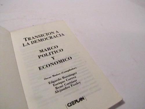 transicion a la democracia chile 1990 varios autores