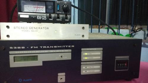transimissor fm marca planet 100 wattes